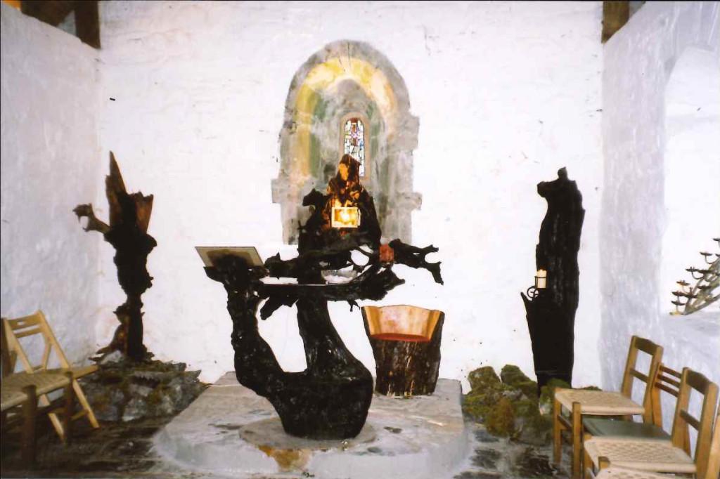 church-island-altar