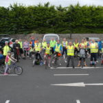 Cyclists ready for off