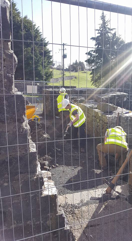 First Day of Archaeological Dig in Sunshine
