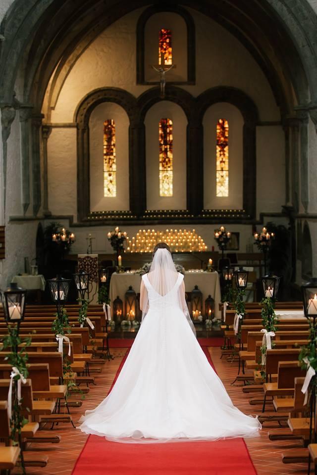Bride on Aisle